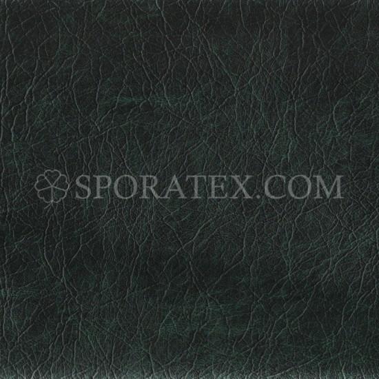 Изкуствена кожа за тапицерия - Флорида - тъмно зелен меланж