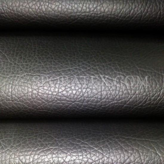 Изкуствена кожа за тапицерия - Индиана - черна