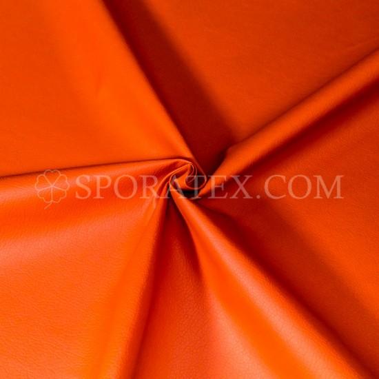 Изкуствена кожа за тапицерия - Индиана - оранжева