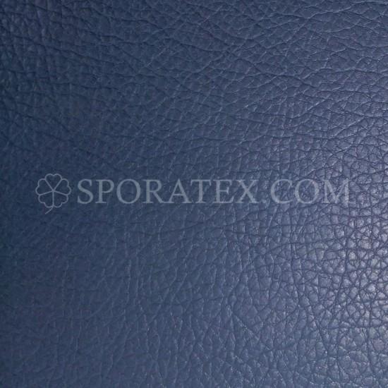 Изкуствена кожа за тапицерия - Индиана - тъмно синя