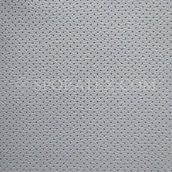 Серия P - Сива перфорирана автомобилна изкуствена кожа за волани и седалки.
