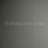 Серия R - Черна полуперфорирана автомобилна изкуствена кожа за волани и седалки.